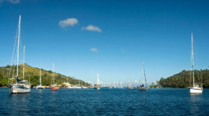 Savusavu - Looking down the Bay